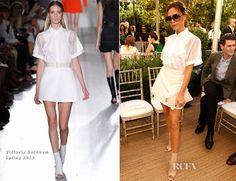 Victoria Beckham In Victoria Beckham - CFDA Vogue Fashion Fund Event