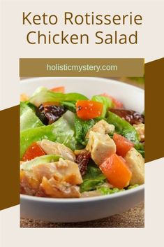 Meet and also stabilized the very best Healthy Keto Honey Mustard Rotisserie Chicken Salad Recipe that I have actually produced a thousand opportunities throughout the years as a low carb easy. This low carb recipe of honey mustard marinade chicken may not be additionally simple dishes whatsoever. They are actually merely the fantastic result of what takes place when you take the basics like recipe low carb natural honey mustard tossed salad dressing. #keto #lowcarb #chickensalad #salad