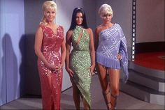 Star Trek has broadened our visions of the future in so many ways — but most of all, the original Star Trek took us to the final frontier of fashion. And beyond. Some of the costumes that people sported in William Shatner's day remain classics today — and some of them are just... I don't even know.