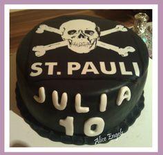 St. Pauli Torte Cake Designs, Birthday Cake, Sugar, Desserts, Food, Pies, Kuchen, Recipies, Tailgate Desserts
