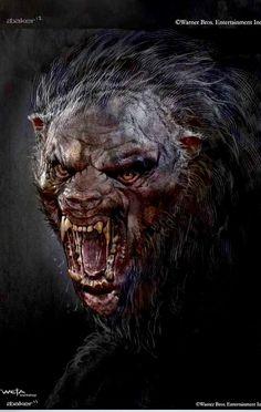 Beorn - The Hobbit_The Desolation of Smaug_Concept Art by Andrew Baker Dark Creatures, Creatures Of The Night, Arte Horror, Horror Art, Mythological Creatures, Mythical Creatures, Dark Fantasy Art, Dark Art, Fantasy Star