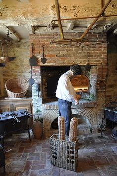 Antique bread oven at Cambremer, Pays d'Auge, France