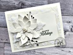 Screen Shot 2020-08-07 at 6.32.13 PM Poinsettia Cards, Poinsettia Flower, Christmas Poinsettia, Stampin Up Christmas, Holiday Cards, Christmas Cards, Free Cards, Hand Stamped Cards, Card Sketches