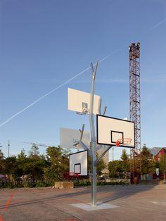 2012 arbre à basket NANTES : a-LTA architectes