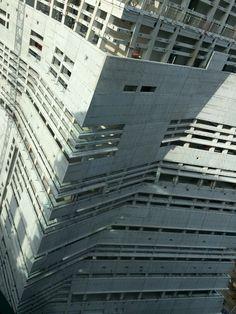 Under construction Tate Modern annex in London