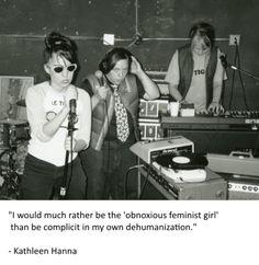 Yah. Kathleen Hanna, Bikini Kill, Riot Grrrl, Make Art, Music Is Life, Music Bands, Punk Rock, Alter, Feminism