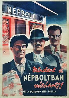 Budapest Poster Gallery is based in Budapest, Hungary, dealing in all kinds of original vintage posters and ephemera, offering worldwide shipping. Vintage Humor, Vintage Ads, Vintage Posters, Communist Propaganda, Propaganda Art, Illustrations And Posters, Health Advice, Hungary, Budapest