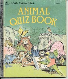 Animal Quiz Book - Little Golden Book
