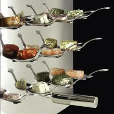 Tasting Spoon Wall from Green Apple Events & Catering - Meeting & Event Planning in Seattle and the Puget Sound