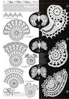 Crochet Pattern Book Irish Lace Top by RussianCrochetBooks on Etsy, $6.99