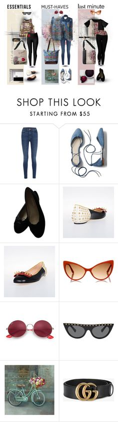 """""""Wardbrobe Basics"""" by debschlier ❤ liked on Polyvore featuring Schumacher, J Brand, Gap, Chanel, Tom Ford, Ray-Ban, Valentino, Gucci, Roksanda and Threads"""