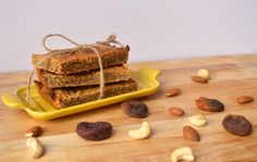 Apricot Snack Bars. On-the-go paleo and whole30 snack!