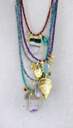 cool layering necklaces