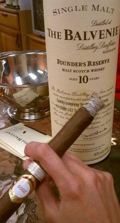 Cigar & Great Scotch