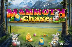 Kalamba Games' Mammoth Chase gets Easter remake - Return to Player Easter Traditions, Game Assets, Casino Games, Egg Hunt, Easter Eggs, Bunny, Symbols, Seasons, Slot
