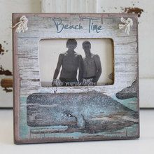 Whale - Beach Time Mini Frame