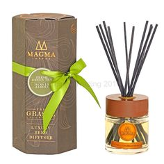 Reed Diffuser Home Fragrance Air Freshener Fresh Green Tea Scent Gift Set Boxed for sale online Boxes For Sale, Diffusers, Fresh Green, Air Freshener, House Rooms, Fragrance, Gift Ideas, Tea, Luxury