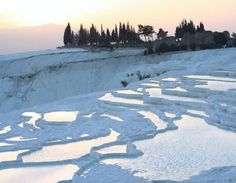 Most Beautiful Places Of The World – Part 2!  - Natural Springs and Limestone Cliffs of Pamukkale – Turkey