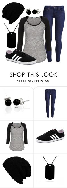 """""""Untitled #87"""" by nevillerocks37 ❤ liked on Polyvore featuring Bling Jewelry, Levi's, maurices, adidas NEO, KBETHOS and CO"""