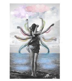 """Shiva"" by fairieprincessgoddess ❤ liked on Polyvore featuring art"