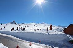 """Granada, Monachil, Hoya de la Mora, Esquí en Sierra Nevada.    37° 5' 37.86"""" N  3° 23' 9.55"""" W  Cortesía de José Ángel de la Peca"""