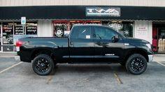 matt black vehicles | Black 2010 Toyota Tundra with 20 inch Fuel Hostage Wheels in matte ...
