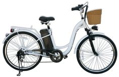"""Watseka XP Cargo-Electric Bicycle-26""""-6 speed-Adult/Young Adult-Black Electric Cars, Best Electric Bikes, Electric Cargo Bike, Electric Bike Review, Electric Mountain Bike, Single Speed Mountain Bike, Mens Mountain Bike, Mountain Bike Brands, Mountain Bike Reviews"""