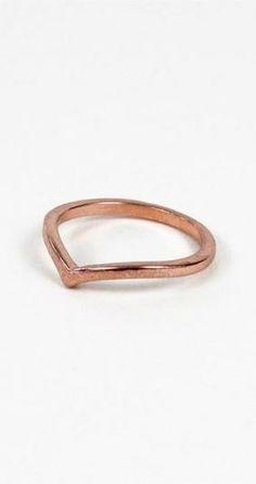 Arc Band - polished rose gold tone finish <3 $6