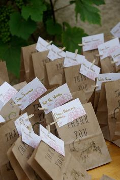 SALE 200 Wedding Favor CANDY BAGS Custom Rustic by RhinoFeathers, $105.00