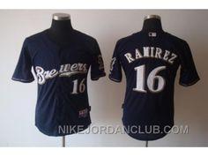 http://www.nikejordanclub.com/mlb-jerseys-milwaukee-brewers-16-ramirez-blue-ttbyg.html MLB JERSEYS MILWAUKEE BREWERS #16 RAMIREZ BLUE TTBYG Only $19.00 , Free Shipping!