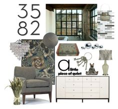 """""""Untitled #2775"""" by justjules2332 ❤ liked on Polyvore featuring interior, interiors, interior design, home, home decor, interior decorating, WALL, CB2, ALEXIA and Pier 1 Imports"""