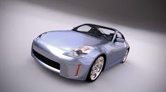 Nissan 350z, Render: Blender Cycles