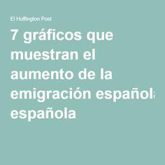 7 gráficos que muestran el aumento de la emigración española Historia