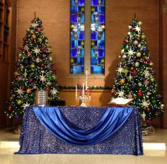 1479533 713779971966026 818483546 N 960x944 Church StageChurch BannersAdvent IdeasChurch Altar DecorationsSanta CenaChristmas