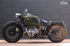 BMW R75/6 de 74 Préparation dans l'esprit moto militaire / La grande évasion -Moteur révisée chez Beugin Moto -Carburateurs reconditionnés...