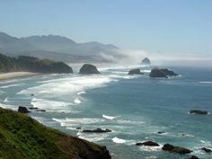 Ahhhh.....home.  The Oregon Coast.