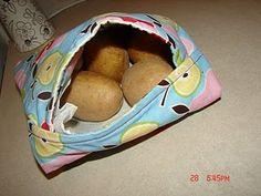 Bake Potatoes in the microwave - in this handy DIY bag.