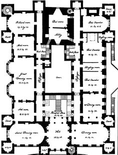 Medieval Castle Floor Plans | Floorplan for the Keep and first ...