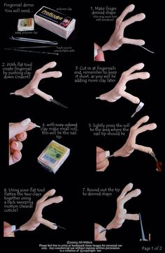 Nail tutorial by jill willich part 1