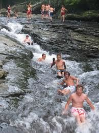 We're definately going to try the waterslides at Ohiopyle(near Pittsburgh) this summer!!