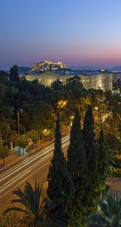 The Greek Parliament and the Acropolis, Athens, Greece (by Visit Greece on Flickr)