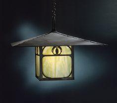 Lantern from the Henry M. Robinson House, Pasadena / Charles Sumner Greene; Henry Mather Greene; Emil Lange / 1906