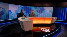 Al Jazeera Balkans, News Studio - FLINT SKALLEN