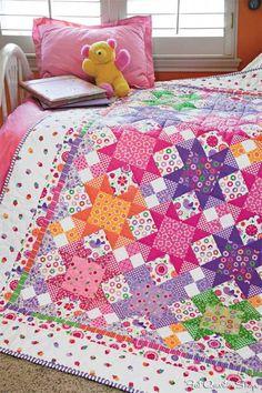Sew Sweet Quilt Kit - Fat Quarter Shop's Jolly Jabber