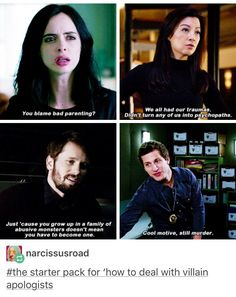 Agents of Shield and Brooklyn Nine Nine! Great shows! Tumblr Stuff, Tumblr Posts, Writing Tips, Writing Prompts, Funny Memes, Hilarious, Fandoms, Brooklyn Nine Nine, The Villain