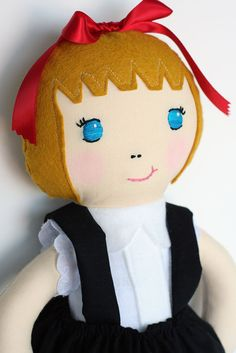 Eloise Doll by The Rice Babies on Etsy