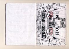 #sketchbookproject  #timetraveler    amberleedesign.com