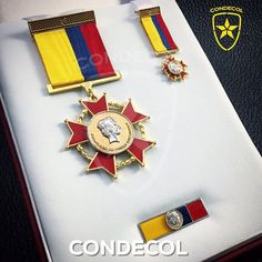 Medalla Francisco de Paula Santander. Departamento Norte de Santander. Colombia.