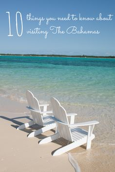 """""""Do I need a passport?"""" """"Should I pack an adapter for my phone charger?"""" Everything you need to know about visiting The Bahamas in one blog!"""