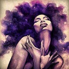 Beautiful #black #woman #dope #blackart #art #afro
